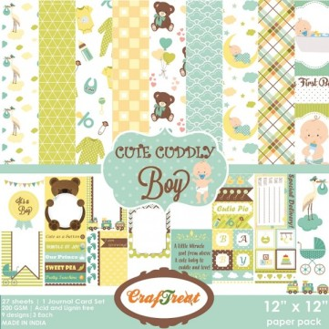 craftreat-paper-pack-cute-cuddly-boy